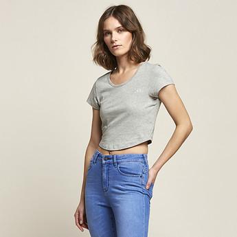 Image of Lee Jeans Australia Grey Marle MADISON TEE GREY MARLE