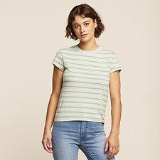 Image of Lee Jeans Australia IVY STRIPE STRIPE SKINNY TEE IVY STRIPE