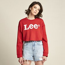 Image of Lee Jeans Australia Scarlet GOSSIP CREW SCARLET