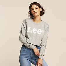 Image of Lee Jeans Australia Grey Marle GOSSIP CREW GREY MARLE