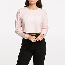 Image of Lee Jeans Australia Powder Pink GOSSIP CREW POWDER PINK