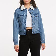 Image of Lee Jeans Australia DECADE BLUE CLASSIC SHERPA JACKET DECADE BLUE