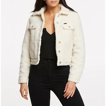 Image of Lee Jeans Australia Vintage White SHERPA TRUCKER JACKET VINTAGE WHITE