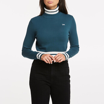 Image of Lee Jeans Australia Etch Blue SIREN KNIT JADE