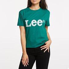 eb65b8103feee7 Image of Lee Jeans Australia Emerald VINTAGE LOGO TEE EMERALD