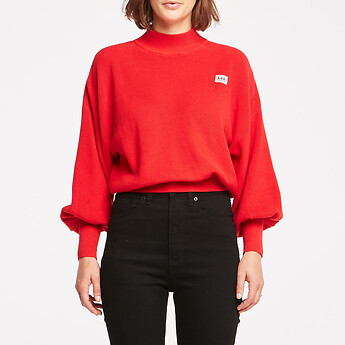 Image of Lee Jeans Australia Red PRIME KNIT RED