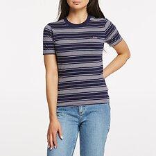 Image of Lee Jeans Australia NAVY/PINK SLIM TEE NAVY/PINK