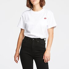 Image of Lee Jeans Australia White   CLASSIC TEE WHITE