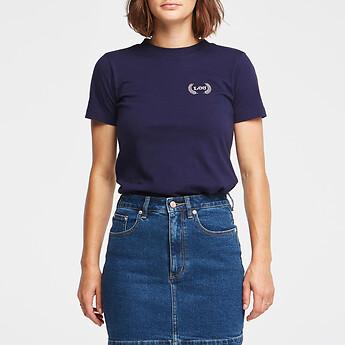 Image of Lee Jeans Australia Navy SLIM TEE NAVY