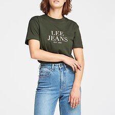 Image of Lee Jeans Australia Emerald CLASSIC TEE EMERALD