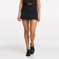 Image of Lee Jeans Australia Lunar Black LOLA SKIRT LUNAR BLACK