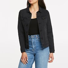 Image of Lee Jeans Australia Lunar Black BOYFRIEND JACKET LUNAR BLACK
