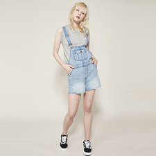 Picture of BILLIE OVERALL VAPOUR BLUE
