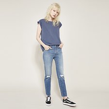 Image of Lee Jeans Australia Delta Destroy SKINNY STRAIGHT DELTA DESTROY
