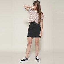 Picture of SONIC SKIRT HIGHRISE BLACK