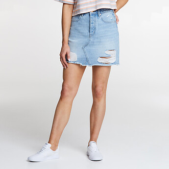 Image of Lee Jeans Australia District Torn RIOT SKIRT DISTRICT TORN