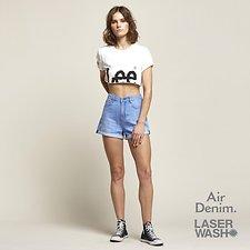 Image of Lee Jeans Australia HALCYON FADE STEVIE SHORT HALCYON FADE