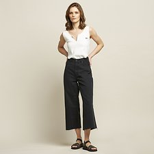 Image of Lee Jeans Australia Lunar Black HIGH TUBES CROP LUNAR BLACK