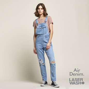 Image of Lee Jeans Australia Ether Blue LONG OVERALL ETHER BLUE