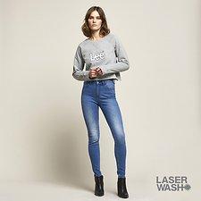 Image of Lee Jeans Australia Bandwidth Blue MID LICKS BANDWIDTH BLUE