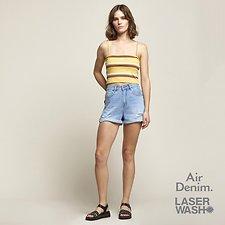 Image of Lee Jeans Australia Ether Blue STEVIE SHORT ETHER BLUE