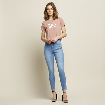 Image of Lee Jeans Australia Veto Torn HIGH LICKS CROP VETO TORN