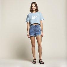 Image of Lee Jeans Australia Harlem Blue STEVIE SHORT HARLEM BLUE