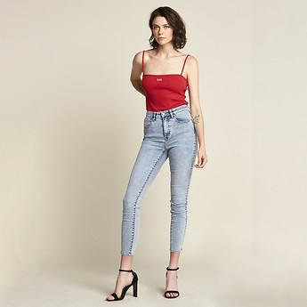 Image of Lee Jeans Australia Harper Vintage HIGH LICKS CROP HARPER VINTAGE