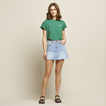 Image of Lee Jeans Australia Cool Water LOLA SKIRT COOL WATER
