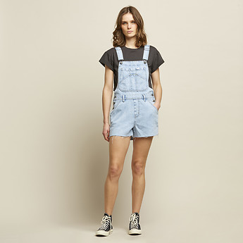Image of Lee Jeans Australia Real Blue  SHORT OVERALL REAL BLUE