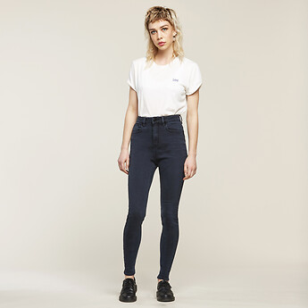 Image of Lee Jeans Australia BLUE SIREN SUPER HIGH LICKS BLUE SIREN