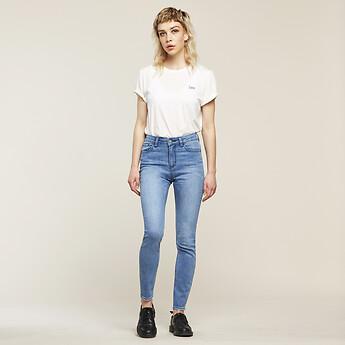 Image of Lee Jeans Australia Northside Blue MID LICKS NORTHSIDE BLUE