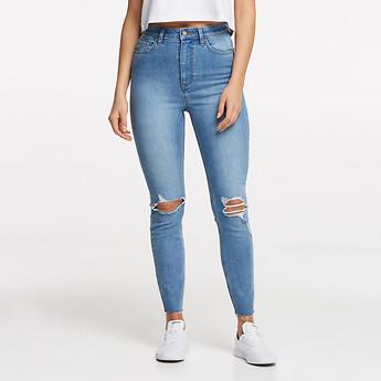 Image of Lee Jeans Australia Northside Blue HIGH LICKS CROP NORTHSIDE BLUE