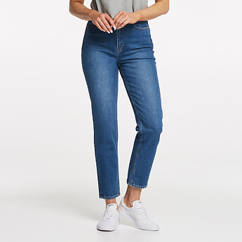 Image of Lee Jeans Australia Bluestone HIGH MOMS BLUESTONE