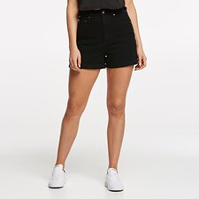 Image of Lee Jeans Australia BLACK HEAT HIGH RELAXED SHORT BLACK HEAT