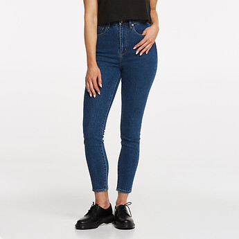 Image of Lee Jeans Australia POWER HIGH LICKS CROP POWER