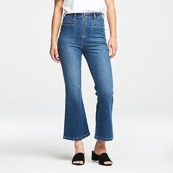 Image of Lee Jeans Australia GRAND HIGH ZIP KICKS GRAND
