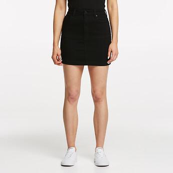 Image of Lee Jeans Australia PRIMO BLACK HIGH CLASSIC SKIRT PRIMO BLACK
