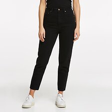 Image of Lee Jeans Australia BLACK HEAT HIGH MOMS BLACK HEAT