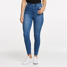 Image of Lee Jeans Australia Stellar Blue  HIGH LICKS CROP STELLAR BLUE