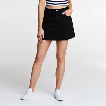 Image of Lee Jeans Australia BLACK HEAT LOLA SKIRT BLACK HEAT