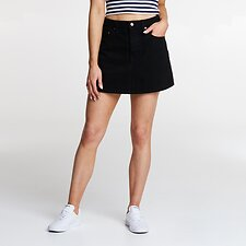 Image of Lee Jeans Australia BLACK HEAT LOLA SKIRT BLACK HEAT